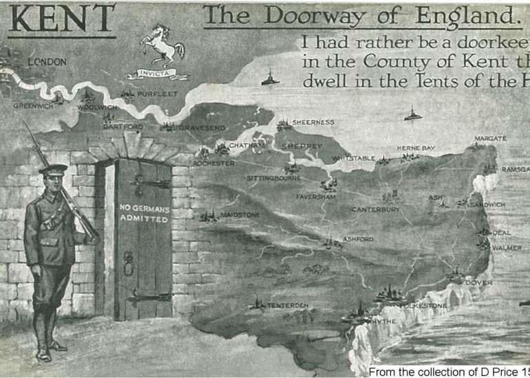 150FAV - The Doorway Of Kent (Postcard) (Front)